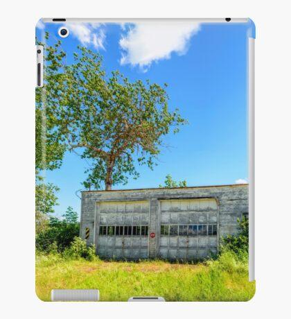 Abandoned Garage iPad Case/Skin