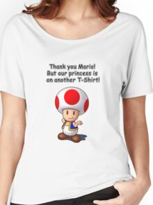 Thank you Mario! But... Women's Relaxed Fit T-Shirt