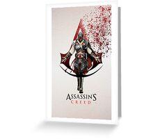 Assassin's Creed Ezio Greeting Card