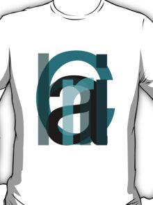 Letters. T-Shirt