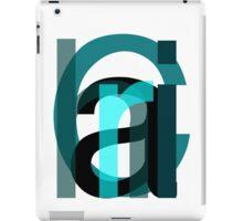 Letters. iPad Case/Skin