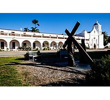San Luis Rey Mission Photographic Print