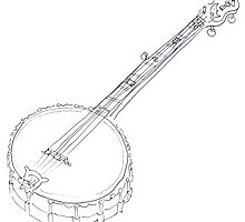 My Grandad Rob Roy's banjo  by Joel Tarling