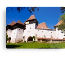 Viscri Fortified Church, Transylvania, UNESCO heritage Metal Print