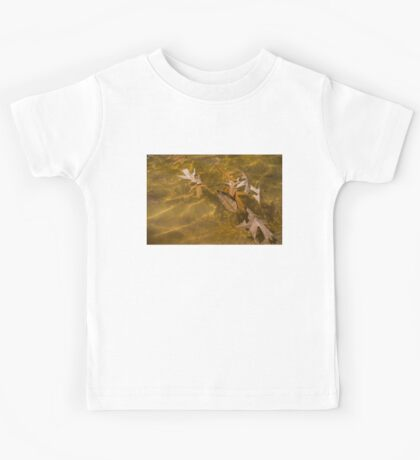 Floating Gold, Honey, Amber and Caramel Kids Tee