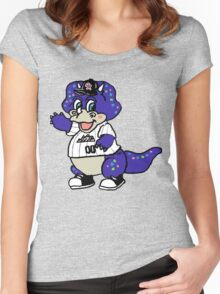 Dinger Women's Fitted Scoop T-Shirt