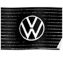 VW grill  Poster