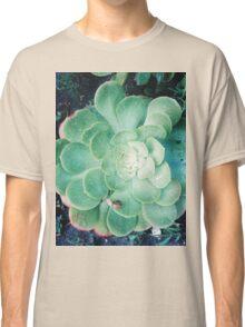 Succulents and snails Classic T-Shirt