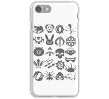 Ultimate Abilities - Gray  iPhone Case/Skin