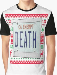 Death Grips Christmas  Graphic T-Shirt
