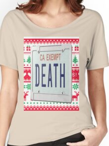 Death Grips Christmas  Women's Relaxed Fit T-Shirt