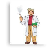 Professor Smoke Canvas Print