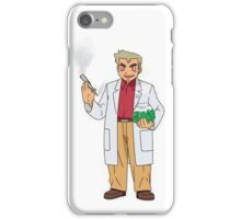 Professor Smoke iPhone Case/Skin