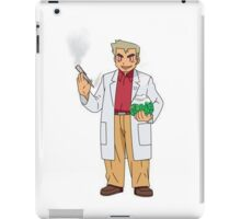 Professor Smoke iPad Case/Skin