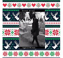 Death  grips Christmas sweater  Photographic Print