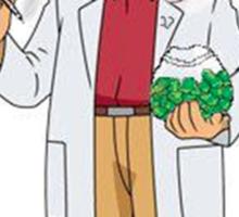 Professor Smoke Sticker