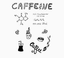 Caffeine & Coffee - Food & Chemistry [Doodle & Handlettering] Unisex T-Shirt