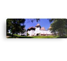 The Fortified Church from Viscri village, Transylvania, Romania Metal Print