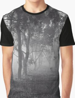 Frosty and Foggy Morning at Macgregor Nature Reserve (ACT/Australia) (3) Graphic T-Shirt