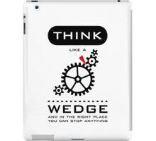 Think like a wedge VRS2 iPad Case/Skin