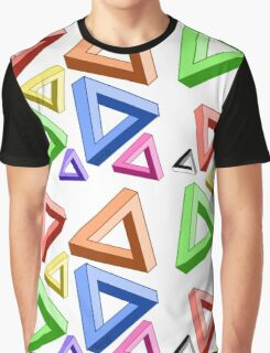 Impossible Triangle Love. Graphic T-Shirt