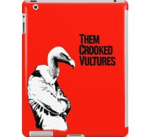 Them Crooked Vultures iPad Case/Skin