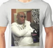 Birdman at The Breakfast Club Interview : Put Some Respek On My Name Unisex T-Shirt