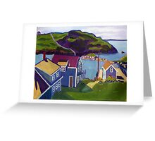 Monhegan Harbor, Maine Greeting Card