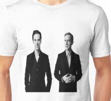Sherlock Holmes and John Watson - Johnlock Unisex T-Shirt