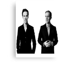 Sherlock Holmes and John Watson - Johnlock Canvas Print