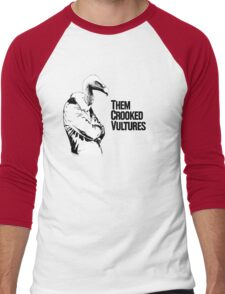 Them Crooked Vultures Men's Baseball ¾ T-Shirt