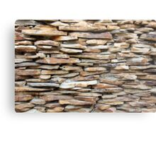 Pattern of decorative stone wall surface Metal Print