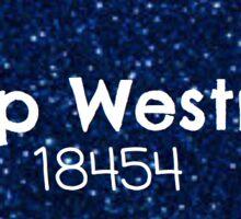 Westmont Sticker Sticker