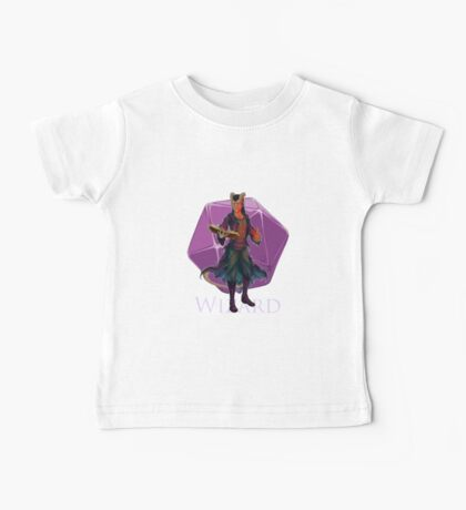 Dungeons and Dragons Wizard Baby Tee