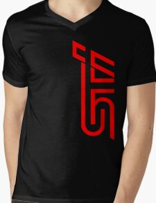 STI Classic Red Mens V-Neck T-Shirt