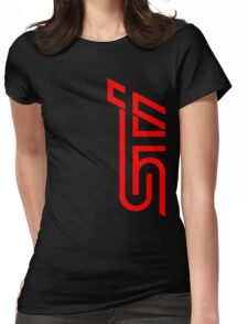 STI Classic Red Womens Fitted T-Shirt