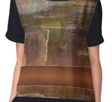 ANCIENT TOMB  by Sherriofpalmspring VIEW LARGER Chiffon Top