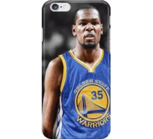 Kevin Durant in Golden State Warriors Jersey iPhone Case/Skin