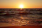 Lake Michigan Sunset by William C. Gladish