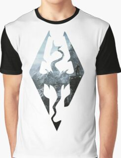 TES - Skyrim Graphic T-Shirt