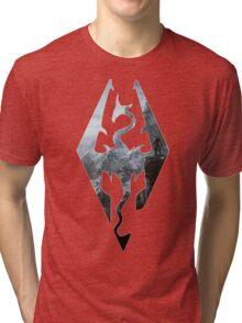 TES - Skyrim Tri-blend T-Shirt