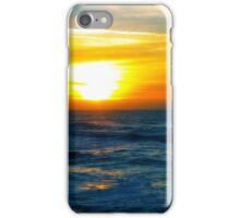 Sunset over Pacific Ocean iPhone Case/Skin
