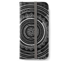 Style mandala tribal - Vibration hypnotique iPhone Wallet/Case/Skin