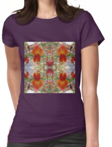 Red Gorse Womens Fitted T-Shirt