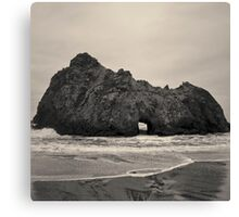 Pfeiffer Beach II Toned Canvas Print