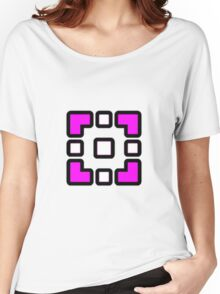 Geometry Dash - Dry Out Cube Women's Relaxed Fit T-Shirt