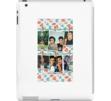 Dolan twins photo collage 2  iPad Case/Skin