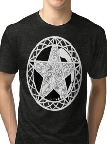 Five Elements Black & White Version Tri-blend T-Shirt