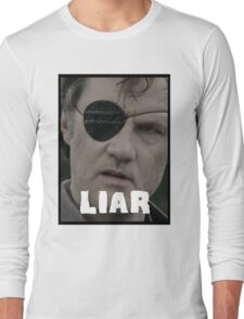 The Governor - THE WALKING DEAD (Liar) Long Sleeve T-Shirt