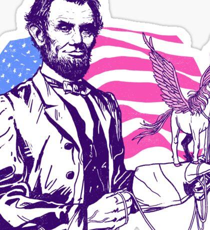 Pegacorn Lincoln Sticker